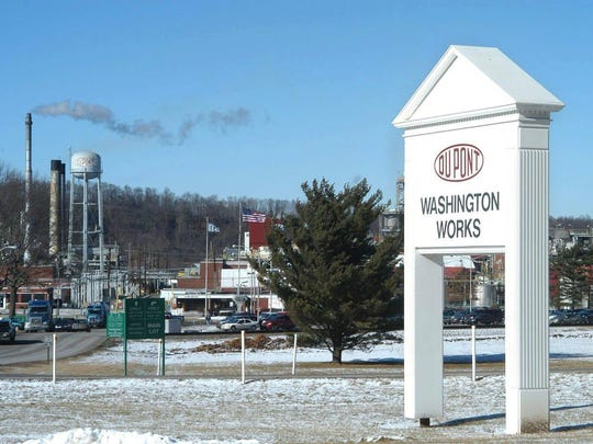 DuPont's Washington Works plant in Parkersburg, West