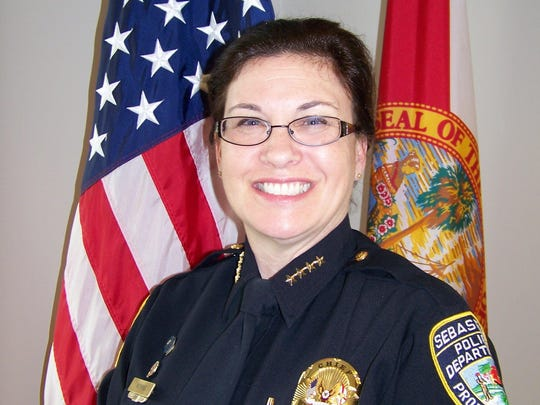 Sebastian Police Chief Michelle Morris