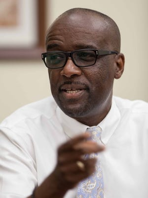 Michael Thompson, dean of the College of Pharmacy and Pharmaceutical Sciences at FAMU. ,