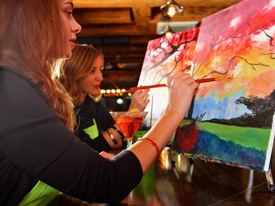 Treat your mom to a special painting class this Mother's Day.