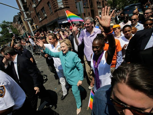 EPA USA NEW YORK GAY PRIDE PARADE POL CITIZENS INITIATIVE & RECALL USA NY