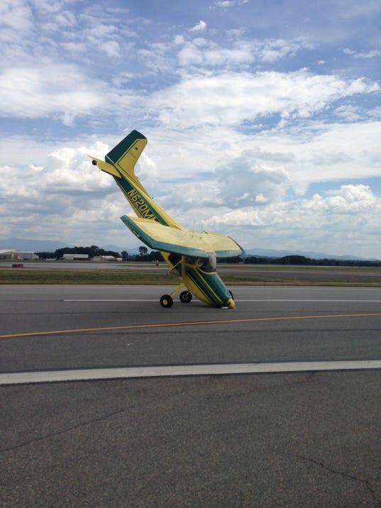 BUR 0729 Plane tipover - COURTESY
