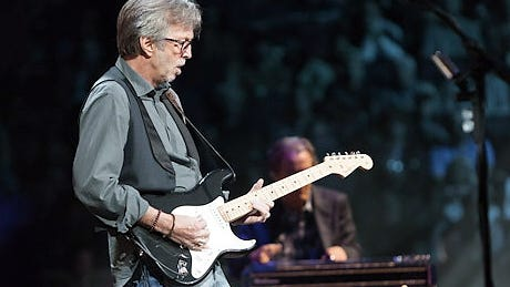 """FILE IS TOO SMALL FOR PRINT Eric Clapton in a scene from the documentary motion picture """"Eric Clapton's Crossroads Guitar Festival 2013."""" CREDIT: Danny Clinch [Via MerlinFTP Drop]"""