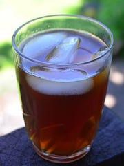 The key to Grandma's Sweet Tea is to make it strong and sweet.