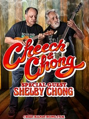 Cheech and Chong promotional poster.
