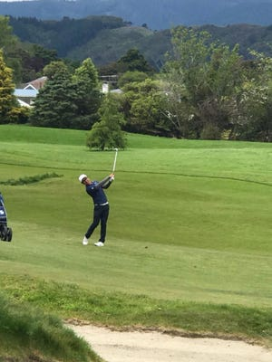 Guam's Nathan Zhao recently finished 41st in the Asia Pacific Amateur Golf Championships.