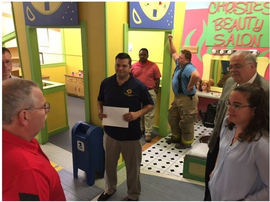 The Little Buckeye Childrens Museum is opening a fire department exhibit in the coming months, thanks to sponsors Hamilton Insurance Group, Auto Owners Insurance and the Mansfield Fire Department.