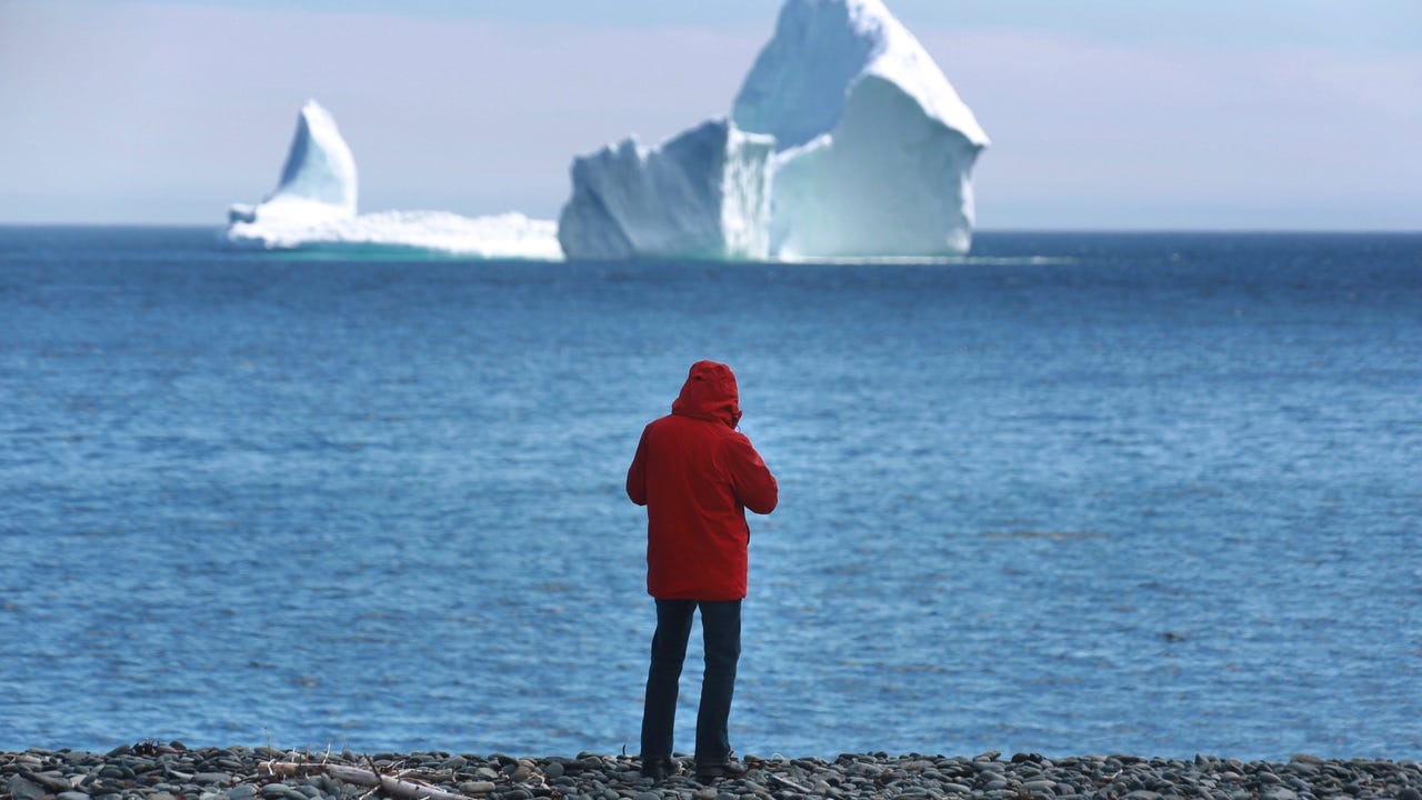 Newfoundland, Canada has a new resident; a massive iceberg.