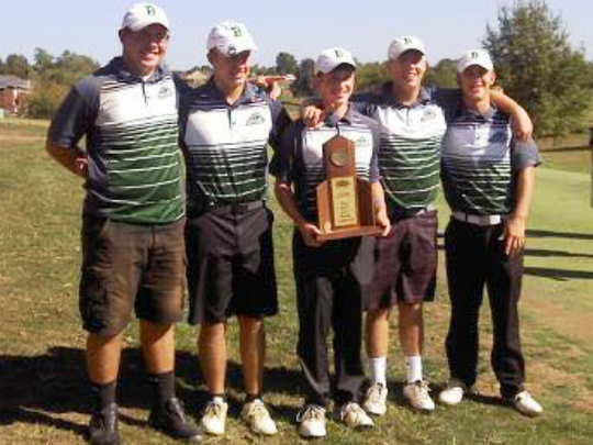 Bishop Brossart won the Region 8 team title.