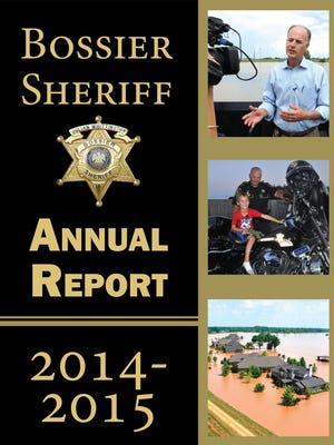 The cover of the Bossier Sheriff Annual Report