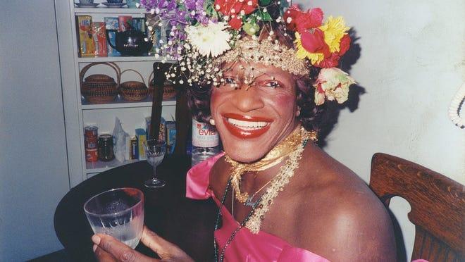 """A still of Marsha P. Johnson from """"The Death and Life of Marsha P. Johnson."""""""