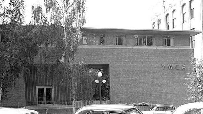 The Salem YWCA building is seen in the 1950s on State Street. It was dedicated June 20, 1954. The YWCA moved from the site in 2006. Salem Public Library Historic Photographs Collection