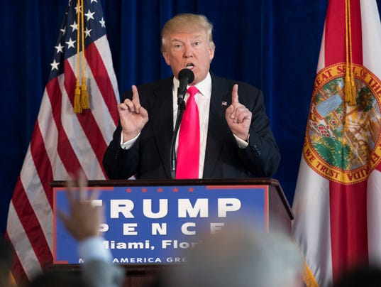 AP CAMPAIGN 2016 TRUMP A ELN USA FL