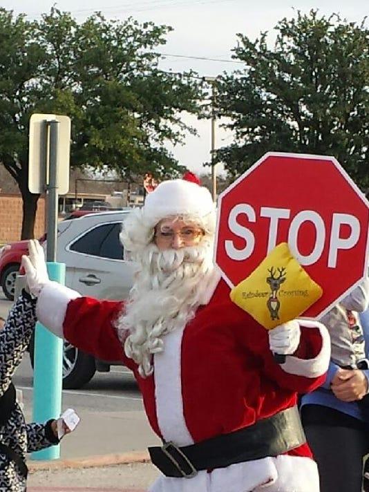 Santa at ECEC