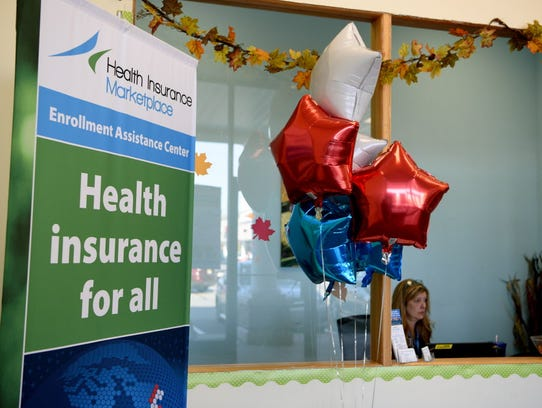 A walk-in enrollment center for the Affordable Care