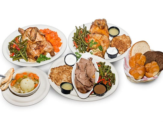 Thanksgiving meals at Chompie's.