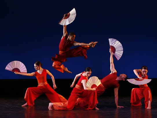 The Nai-Ni Chen dance company performs at the New Jersey