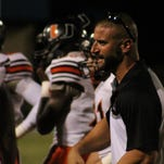 Union Parish head coach Joey Spatafora and his team lost its fourth game this season.