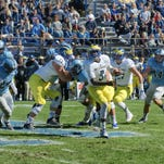 Quarterback Joe Walker and the rest of the Delaware offense could not muster an attack on Saturday.