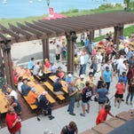 Snow — what snow? South Shore Terrace beer garden opens today despite the forecast