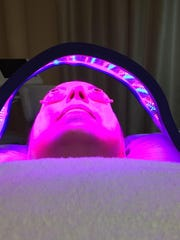 LED Light Therapy (photo-rejuvenation) fuels the skin's natural makeover process to minimize fine lines, wrinkles and sun damage.