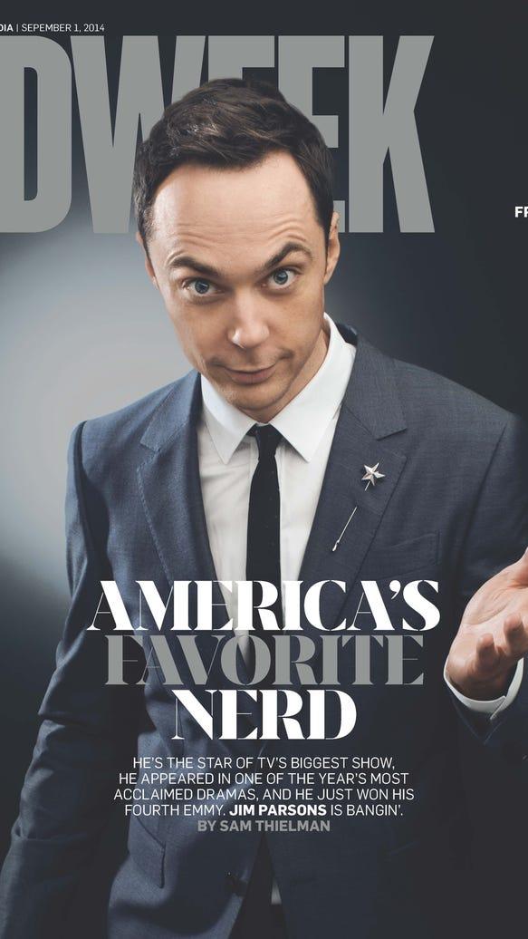 Jim Parsons Adweek cover