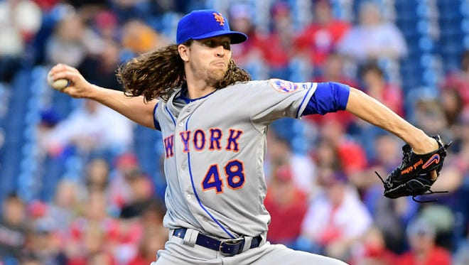 Jacob deGrom has reportedly been scratched from Friday's start against the Nationals.