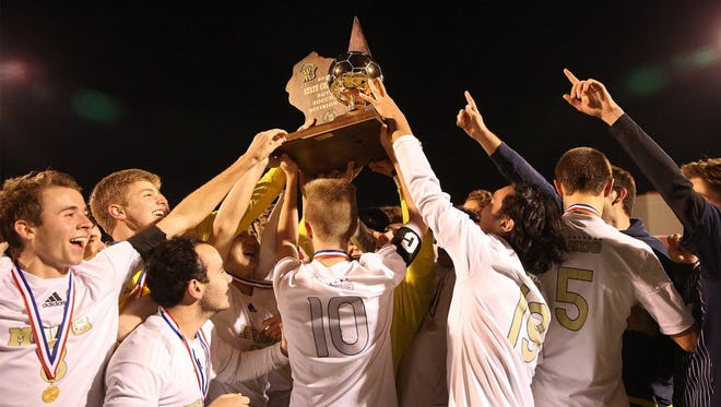 Marquette is seeking to win four straight WIAA Division one titles in soccer this season for the second time in school history.