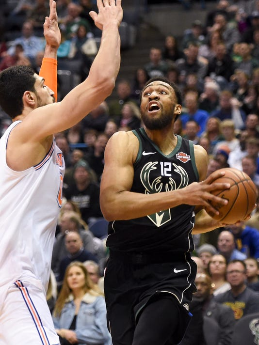 NBA: New York Knicks at Milwaukee Bucks