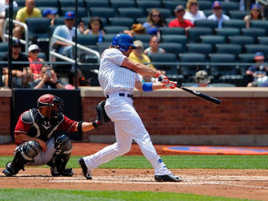 MLB: Arizona Diamondbacks at New York Mets