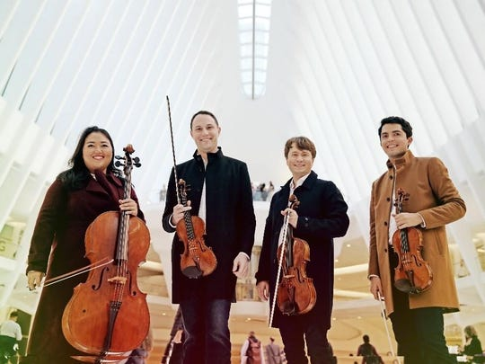 The Calidore String Quartet plays Shostakovich, Brahms and Kurtag at UD on Dec. 8.