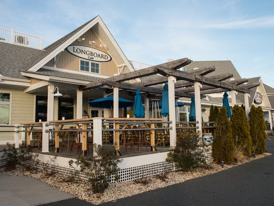 An exterior view of Longboard Cafe in Ocean City on