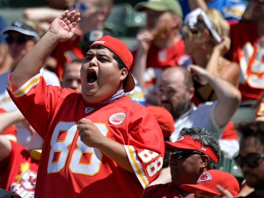 USP NFL: KANSAS CITY CHIEFS AT LOS ANGELES CHARGER S FBN LAC KC USA CA