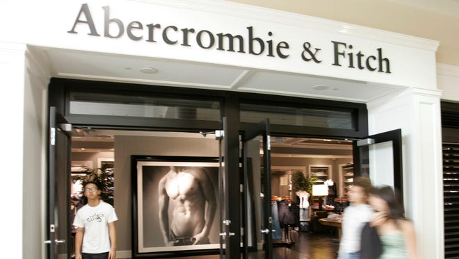 An Abercrombie & Fitch store in San Jose, Calif.