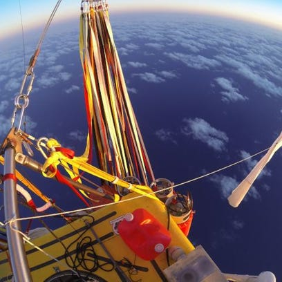 Balloon crew makes history crossing Pacific Ocean