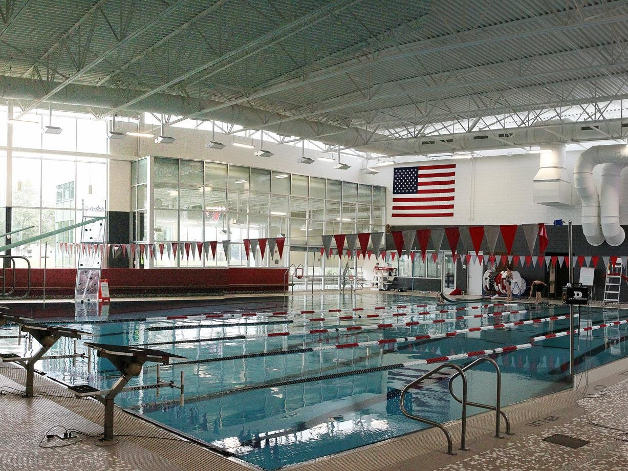 Coldwater High School will host their first home swim meet at Dr. Robert W. Browne Aquatic Center on Thursday.