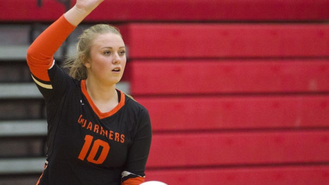 Mackenzie Grisham was one of the players who dealt with injuries this season for Dell Rapids.