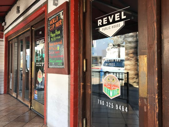 Revel Public House in Palm Springs