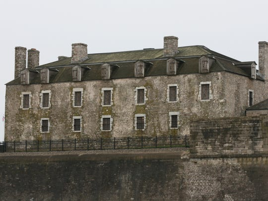 The French commanded Old Fort Niagara from 1726 to