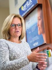 Charlotte Addison, vice-president of marketing at Verilux