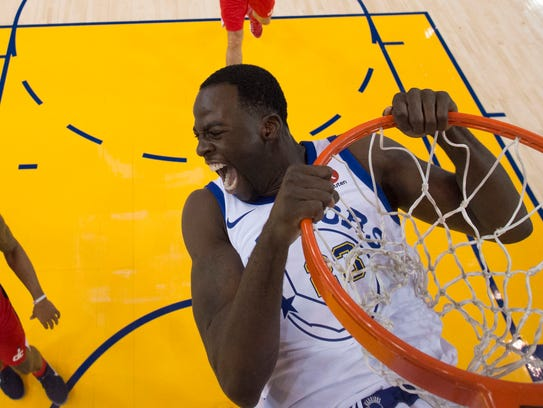 Oct. 27: Golden State Warriors forward Draymond Green