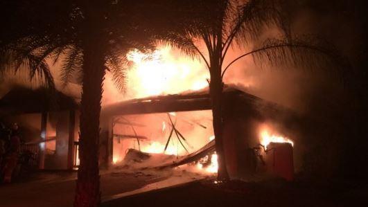 Fire in Palm Bay