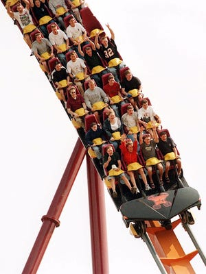 Six Flags Great America in Gurnee, Ill.