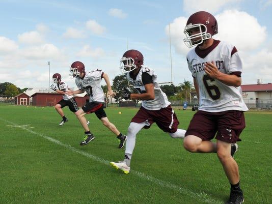 Astronaut High Football Practice