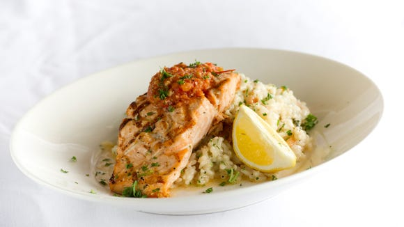 Want the perfect wine to pair with that salmon? Coda Rossa has a suggested pairing.