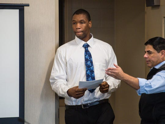 Chavis Murphy appears in Vermont Superior Court in