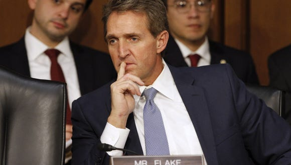 Flake is right that Congress should formally authorize