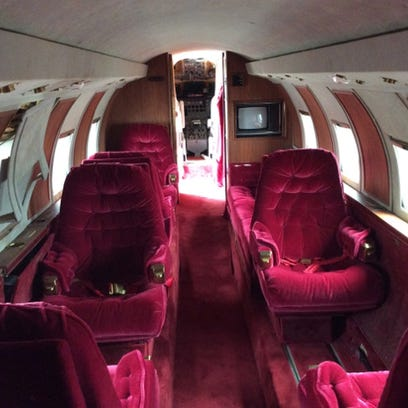 You can now bid to buy Elvis Presley's private jet; sold 'as is'