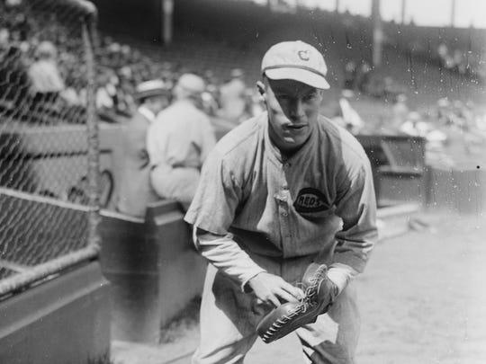 "Eugene ""Bubbles"" Hargrave, catcher, Cincinnati Reds, 1921-1928."