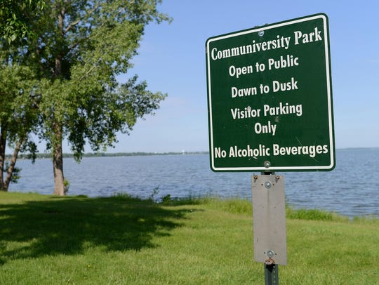 Communiversity Park off Nicolet Drive near the main